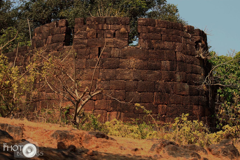 Bankot Fort Bastion