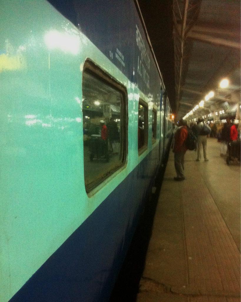 Lok Shakti Express At Bandra Terminus